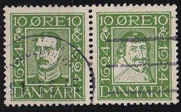DÄNEMARK DANMARK [1924] MiNr 0140+37 ( O/used ) - Gebraucht