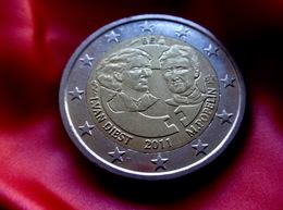 Belgium 2 Euro 2011 1st Centenary Of The International Women's Day Coin  CIRCULATED - Belgio