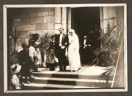 PHOTO RAPID LYON DEBUT XX ème SIECLE 13 X 18 Cm - NOBLESSE CEREMONIE MARIAGE HABIT ROBE HAUTE FORME - NOBILITY WEDDING - Anonymous Persons