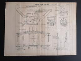 ANNALES DES PONTS Et CHAUSSEES (DEP 77) - Dérivation Du Loing Et Du Lunain - 1905 (CLF72) - Public Works