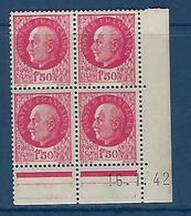 "FR Coins Datés  YT 516 "" Pétain 1F50 Rose "" Neuf** Du 16.1.42 - 1940-1949"
