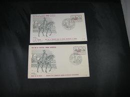 BELG.1962 1212 FDC's ( Antwerpen & Bruxelles ) :  Journée Du Timbre / Dag Van De Postzeg - FDC