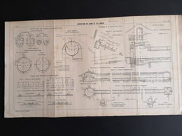 ANNALES DES PONTS Et CHAUSSEES (DEP 77) - Dérivation Du Loing Et Du Lunain - 1905 (CLF75) - Obras Públicas