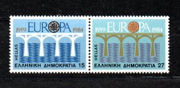 Greece Europa CEPT 1984 PAIR MNH - Europa-CEPT