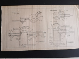ANNALES DES PONTS Et CHAUSSEES (DEP 77) - Dérivation Du Loing Et Du Lunain - 1905 (CLF76) - Zeekaarten