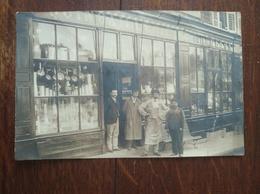 "Carte Postale Ancienne ""quincaillerie"" A Priori Avranches Années 1900 - Shops"