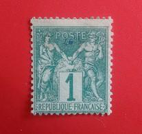 1 CT SAGE N°61 NEUF SANS GOMME AVEC UN PETIT DÉFAUT. BONNE COTE - 1876-1878 Sage (Type I)