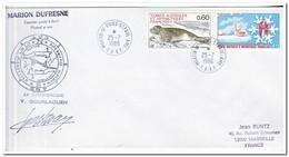 Frans Antarctica 1986, Letter To Marseille - Franse Zuidelijke En Antarctische Gebieden (TAAF)