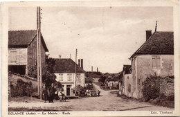 ECLANCE - La Mairie - Ecole - Cachets Perlés 1 Cercle De BOSSANCOURT (Aube)   (112963) - France