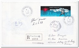 Frans Antarctica 1983, FDC To Le Pay En Velay - FDC