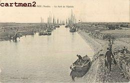 BEAUVOIR-SUR-MER LE PORT DE L'EPOIDS 85 - Beauvoir Sur Mer