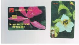 ALBANIA - 1999 FLOWERS    - USED -  RIF. 10802 - Albanië