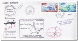 Frans Antarctica 1982, Helicopters - Franse Zuidelijke En Antarctische Gebieden (TAAF)