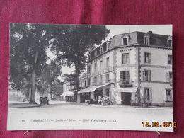 CPA - Lamballe - Boulevard Jobert - Hôtel D'Angleterre - Lamballe