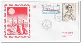 Frans Antarctica 1981, Letter To Roanne - Franse Zuidelijke En Antarctische Gebieden (TAAF)