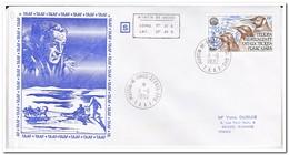 Frans Antarctica 1982, FDC, Birds - FDC