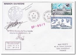 Frans Antarctica 1985, Letter To Marseille - Franse Zuidelijke En Antarctische Gebieden (TAAF)