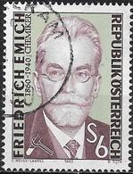 AUSTRIA 1990 50th Death Anniv Of Friedrich Emich (microchemist) - 6s Emich FU - 1945-.... 2ème République