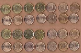 AC - TURKEY -  2005, 2006, 2007, 2008, 2009, 2010, 2011, 2012, 2013, 2014, 2015, 2016, 2017, 2018 UNCIRCULATED COINS - Türkei