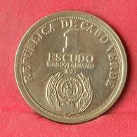 CAPE VERDE 1 ESCUDOS 1985 -    KM# 23 - (Nº28383) - Cape Verde