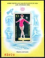 ROUMANIE - BLOC N° 167 B ** NON DENTELE  (1984) Gymnastique Artistique - Blocs-feuillets