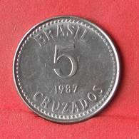BRAZIL 5 CRUZADOS 1987 -    KM# 606 - (Nº28388) - Brazilië