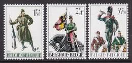 SERIE NEUVE DE BELGIQUE - CINQUANTENAIRE DE LA GUERRE DE 1914 N° Y&T 1293 A 1295 - WW1