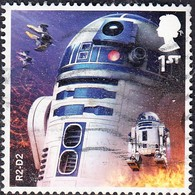 2017 GB - Star Wars (3rd Series) - R2-D2 1st-  Used - 1952-.... (Elizabeth II)