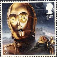 2017 GB - Star Wars (3rd Series) - C-3PO 1st-  Used - 1952-.... (Elizabeth II)