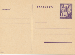 Generalgouvernement - 1940 ,  Postkarte - Besetzungen 1938-45
