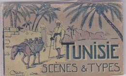 TUNISIE / JOLI CARNET 24 CARTES / SCENES ET TYPES - Tunisie