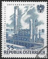 AUSTRIA 1961 15th Anniv Of Nationalized Industries - 5s. Oil Refinery, Schwechat FU - 1945-.... 2ème République