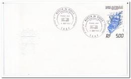 Frans Antarctica 1983, FDC, Ship - FDC