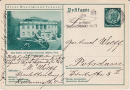 DR 3 Reich Ganzsache P 232 Bildpostkarte Bad Soden A Taunus Gel MWSt Berlin 1934 - Deutschland