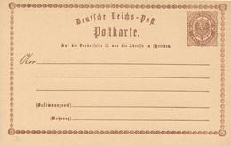 DR - 1873 , Postkarte - Deutschland