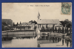 78 VELIZY Eglise Et Place De L'église - Velizy