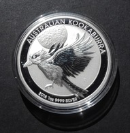 Australia, Kookaburra 1 Oz 2018 Silver 9999 Pure - 1 Oncia Argento Puro Bullion Perth Min - Australia