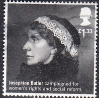 2016 GB -   British Humanitarians - Josephine Butler, 1828-1906 £1.33 - SG3815  Used - 1952-.... (Elizabeth II)