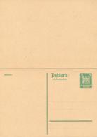 DR -  1925 , Adler - Postkarte Mit Antwortkarte  Gezähnt - Deutschland