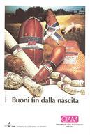 ITALIA - 1985 CIBUS Salone Alimentazione Italiana Ann. Ord. S.LAZZARO PARMENSE (PR) Su Cartolina Pubbl. CIAM - Settore Alberghiero & Ristorazione