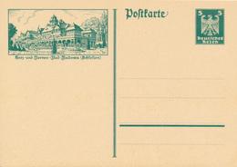 DR -  1926 , Adler - Postkarte  ,  BPK  Bad Kudowa - Deutschland