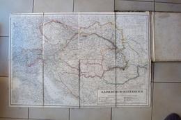 AUSTRIA POLONIA KAISERTHUN OESTERREISCHE KRALOVSTVI CESKE CECOSLOVACCHIA 1856 CARTE GEOGRAFICHE - Bücher, Zeitschriften, Comics