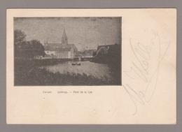 Deinze  -  Leibrug. - Pont De La Lys (1901) Sloep In Water - Deinze