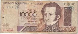 Venezuela 10000 Bolívares 25-5-2000 Pk 85 A Ref 21 - Venezuela