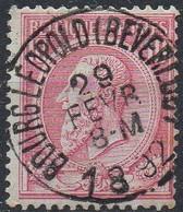 N° 46 Oblitération BOURG LEOPOLD (BEVERLOO) - 1884-1891 Léopold II