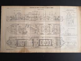ANNALES DES PONTS Et CHAUSSEES - Refoulement Des Produits De Dragages En Conduites Fermées - 1907 (CLF79) - Obras Públicas
