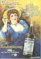 ITALIA - Cartolina Pubblicitaria LIQUORIFICO COLOMBO SALSOMAGGIORE - Pubblicitari