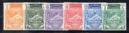 APR532 - BIRMANIA MYANMAR 1949 , Yvert N. 47/52 ***  (2380A).  Upu - Myanmar (Burma 1948-...)
