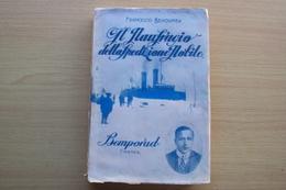 ITALIA LIBRO Behounek IL NAUFRAGIO DELLA SPEDIZIONE NOBILE - Bemporad 1930 SENZA LA PRIMA COPERTINA - Libri, Riviste, Fumetti