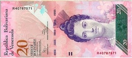 Venezuela 20 Bolívares 3-2-2011 Pk 91 E UNC - Venezuela